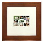 Critter Camp! Framed Tile