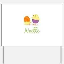 Easter Chick Noelle Yard Sign