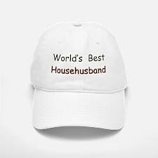 Worlds Best Househusband Baseball Baseball Cap