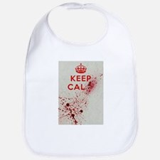 Keep Calm Bib