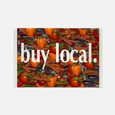 Buy Local. Rectangle Magnet