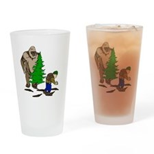 Looking for the Squatch Drinking Glass