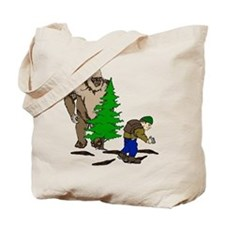Looking for the Squatch Tote Bag