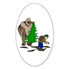 Looking for the Squatch Decal