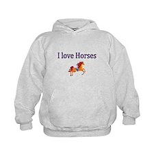 I love Horses Hoodie