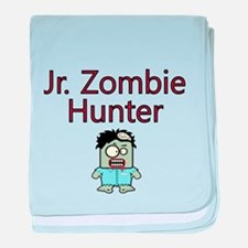 Jr. Zombie Hunter baby blanket