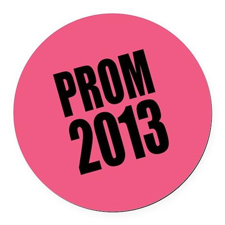 Prom 2013 Round Car Magnet