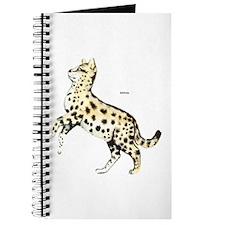 Serval African Wild Cat Journal