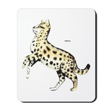 Serval African Wild Cat Mousepad
