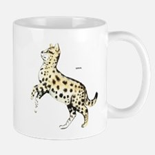 Serval African Wild Cat Mug
