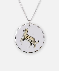 Serval African Wild Cat Necklace