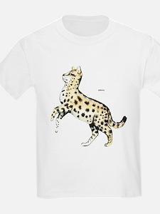 Serval African Wild Cat T-Shirt