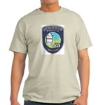 Bourbon Police Ash Grey T-Shirt