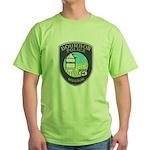 Bourbon Police Green T-Shirt