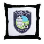 Bourbon Police Throw Pillow