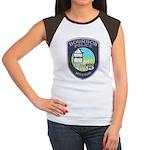Bourbon Police Women's Cap Sleeve T-Shirt