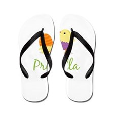 Easter Chick Priscilla Flip Flops