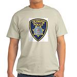 Olympia Police Ash Grey T-Shirt