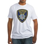 Olympia Police Fitted T-Shirt