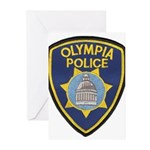 Olympia Police Greeting Cards (Pk of 10)