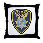 Olympia Police Throw Pillow