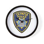 Olympia Police Wall Clock
