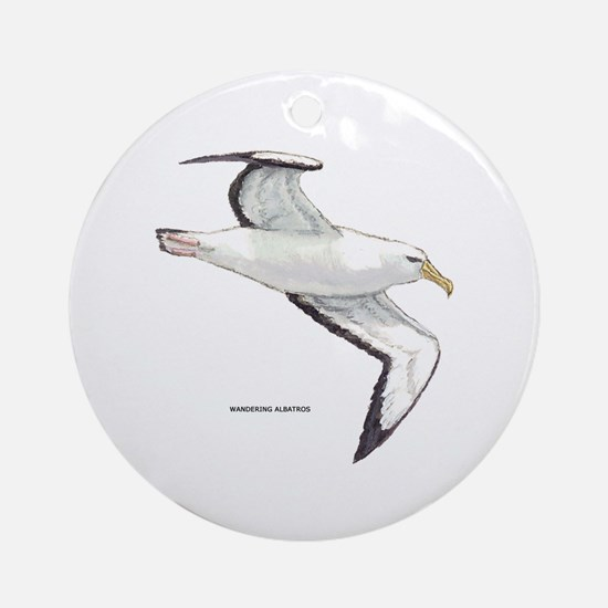 Wandering Albatross Bird Ornament (Round)