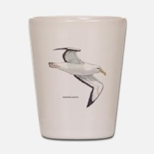 Wandering Albatross Bird Shot Glass