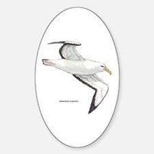Wandering Albatross Bird Sticker (Oval)
