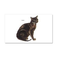 Burmese Cat Car Magnet 20 x 12