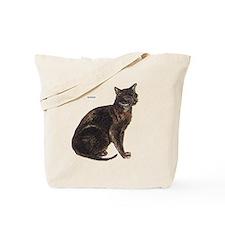 Burmese Cat Tote Bag
