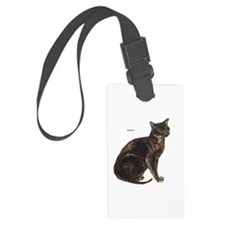 Burmese Cat Luggage Tag