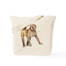 Macaque Monkey Ape Tote Bag