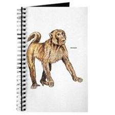 Macaque Monkey Ape Journal