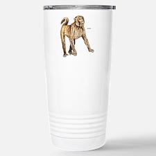 Macaque Monkey Ape Travel Mug