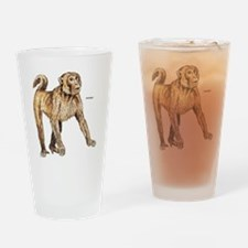 Macaque Monkey Ape Drinking Glass