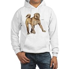 Macaque Monkey Ape Hoodie