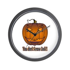You Don't Know Jack! Wall Clock
