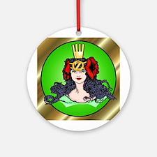 Ozma of Oz Green Ornament  (Round)