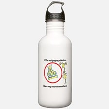 Cute Brain Sports Water Bottle