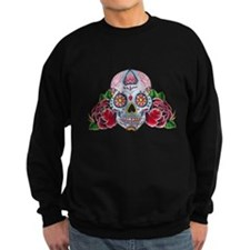Skull and Roses Jumper Sweater