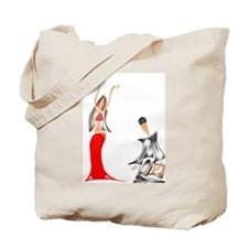 Amina and Haroun Tote Bag