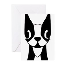 Boston Terrier Greeting Cards (Pk of 10)