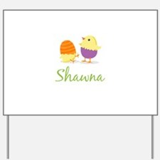 Easter Chick Shawna Yard Sign