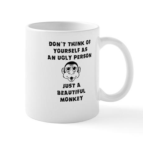 Beautiful Monkey Funny Ugly Mug