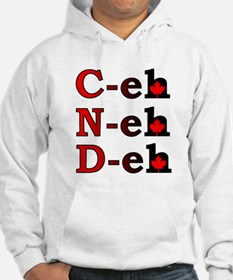 Canada Eh! Funny Canadian Hoodie