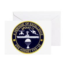 USS Hornet Apollo 11 Greeting Cards (Pk of 10)