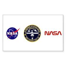 Uss Hornet Apollo 11 Sticker (rectangle)
