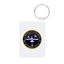 USS Hornet Apollo 11 Keychains