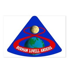 Apollo 8 Postcards (Package of 8)